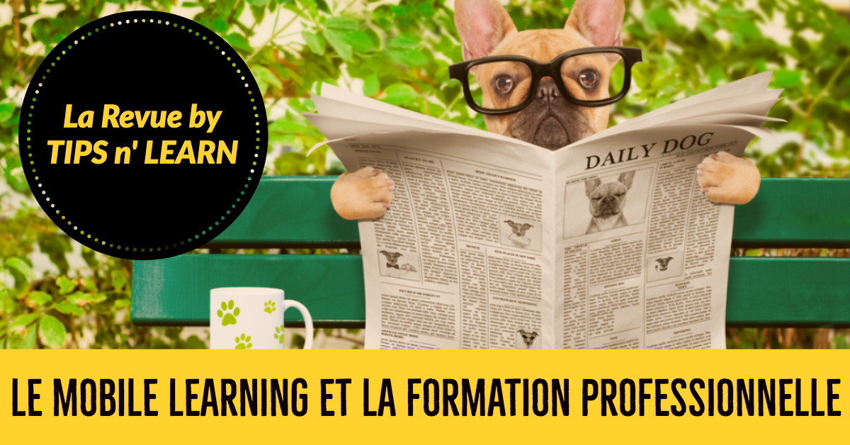 Mobile Learning et formation professionnelle